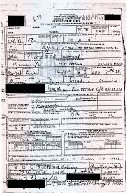 birth certificate correction sample letter jure sanguinis genealogy and jure sanguinis great grandmother s death certificate arrives