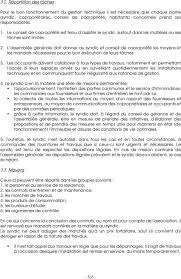 chambre syndicale des syndics de copropriété cahier des charges syndic de copropriete pdf