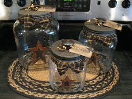 Country Canister Sets For Kitchen Canister Home Pinterest Primitives Country And Craft