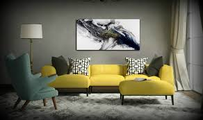 modern painting acrylic painting 24x48 art print abstract painting
