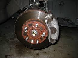 honda civic rotors civic front brake pads replacement guide 007