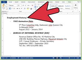 ats resume how to format a resume for an applicant tracking system ats