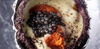 comment cuisiner des oursins beurre d oursins au caviar facile recette sur cuisine actuelle