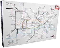 underground map underground map 1000 jigsaw puzzle 750mm x 500mm rf