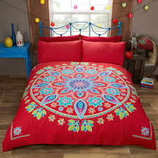 bed linen u0026 pillowcase with mandala print u2013 pasx uk