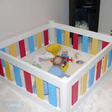 baby toddler coloured playpen play pen kids room divider heavy