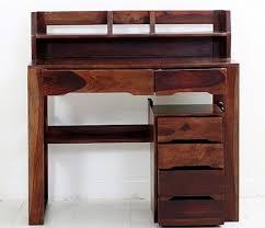 Sheesham Computer Desk Desk Elegantly Finished Sheesham Wood