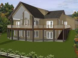 house plans with walkout basements basement two story walkout basement house plans