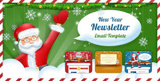 happy new year u0026 christmas email templates 2018
