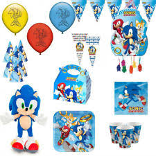 sonic the hedgehog party supplies sonic party supplies ebay