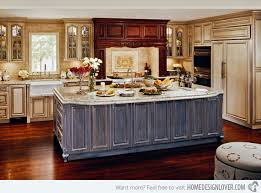 distressed island kitchen 15 perfectly distressed wood kitchen designs kitchens