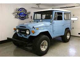 1970s toyota land cruiser 1970 to 1972 toyota land cruiser for sale on classiccars com 12