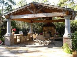 Outdoor Kitchen Pavilion Designs by 17 Best Pavilions Images On Pinterest Backyard Ideas Outdoor