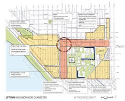Neighborhoods Seattle Map by Uptown Urban Design Framework