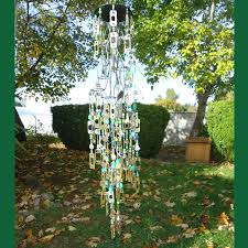 hanging wind chime recycled chime ideas