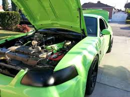 Green And Black Mustang 2003 Mustang Cobra Painted Gotta Have It Green Stangtv