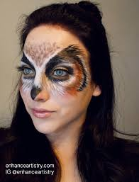 Spider Halloween Makeup Owl Makeup Google Search Halloween Pinterest Halloween