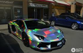 lamborghini aventador wrap lamborghini aventador spotted in mind warping holographic wrap