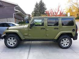 green jeep wrangler unlimited boltobye u0027s not so fancy u002713 commando green unlimited build thread