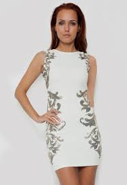 gold and white party dress naf dresses