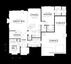 Easy Floor Plans by Mascord House Plan 22146 The Barlow
