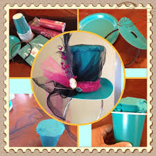 halloween dixie cups mad hatter hat out of paper cup u0026 plates from the dollar store