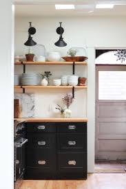 Open Shelf Kitchen by 199 Best Kitchen Shelves Images On Pinterest Kitchen Live And