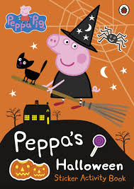 amazon halloween peppa pig peppa u0027s halloween sticker activity book amazon co uk