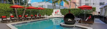 South Beach Florida Map by Miami Beach Hotel Red South Beach Hotel Miami Beach Fl