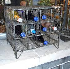 metal wire gym basket and wine rack hudson goods blog