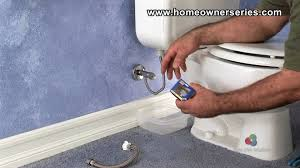 how to fix a toilet water supply valve replacement part 1 of 2