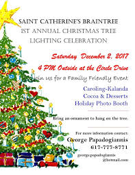 Massachusetts is it safe to travel to greece images Christmas tree lighting at st catherines greek church braintree ma jpg