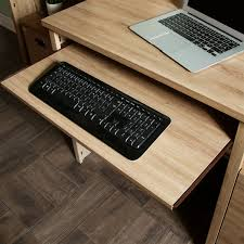 Desk Keyboard Tray by South Shore Gascony Computer Desk With Keyboard Tray Walmart Canada