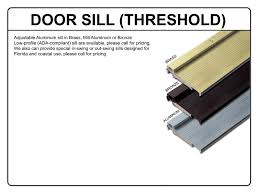 Door Thresholds For Exterior Doors Mai Doors Marfl6 2 Pre Hung 6 Lite Tdl Arch Top Mahogany