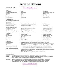 Singer Resume Example by Best 25 Acting Resume Template Ideas On Pinterest Resume