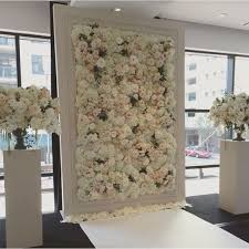 wedding backdrop chagne 22 trending flower wall backdrops for your wedding day