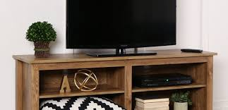 Black Corner Tv Cabinet With Doors Tv Amazing Low Corner Tv Stands Bdi Signal Graphite Low Profile