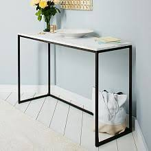 West Elm 2x2 Console Desk Best 25 Skinny Console Table Ideas On Pinterest Diy Sofa Table