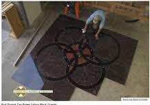 brown granite floor medallions brown granite floor