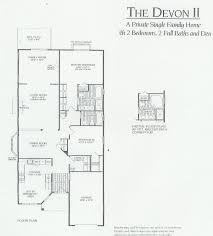 single family home floor plans birchwood at spring lake bsl