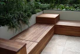 Patio Stone Flooring Ideas by Magnificent Furniture Of Wooden Diy Patio Bench As Elegant