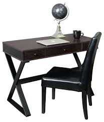 Small Black Writing Desk Black Writing Desk With Drawers Small Black Writing Desk