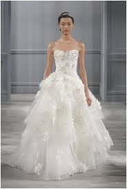 ethereal wedding dress lhuillier 2014 bridal collection