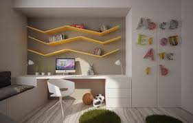 Modern Built In Desk by 12 Kids Bedrooms With Cool Built Ins