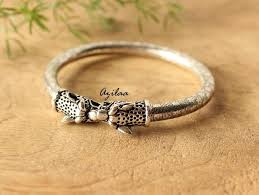 bangle bracelet with ring images Bangle bracelets jpg