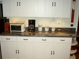 Black Handles For Kitchen Cabinets Kitchen Cabinets Ideas Black Pull Handles White Grey Ceramic