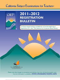 cset no child left behind act test assessment