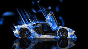 Lamborghini Aventador Open Door - lamborghini aventador side abstract aerography car 2014 el tony