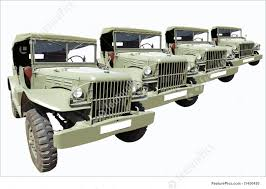 old military jeep vintage military cars 40 u0027s in row image