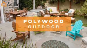 Patio Furniture Made From Recycled Plastic Milk Jugs Ashley Homestore Polywood Outdoor Furniture Youtube